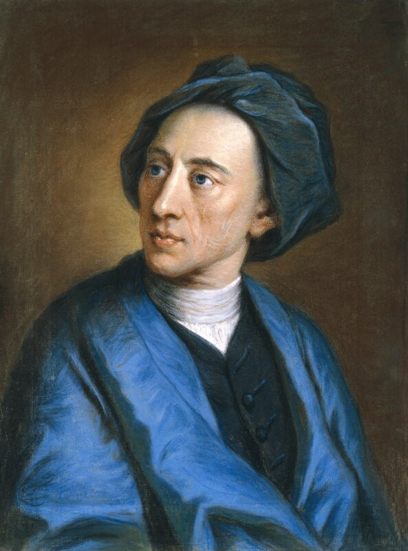 Alexander Pope, by William Hoare, circa 1739 - NPG 299 - © National Portrait Gallery, London
