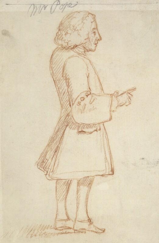 Alexander Pope, by William Hoare, circa 1739-1743 - NPG 873 - © National Portrait Gallery, London