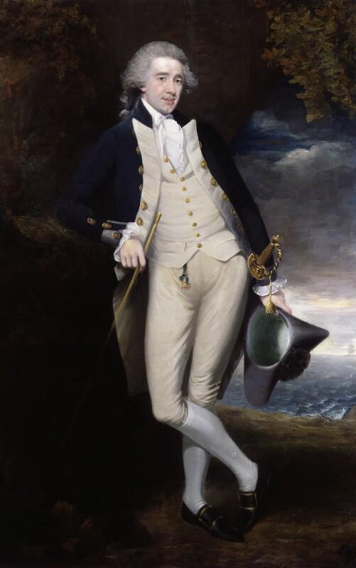 Sir Home Riggs Popham, by Unknown artist, circa 1783 - NPG 811 - © National Portrait Gallery, London