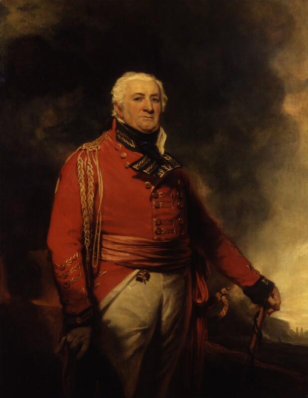 William Popham, by Sir Martin Archer Shee, circa 1814 - NPG 812 - © National Portrait Gallery, London