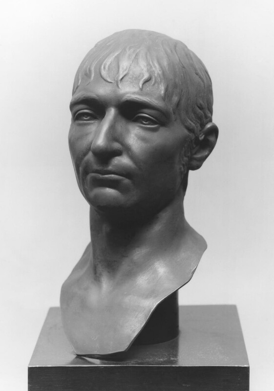 Richard Porson, by Elkington & Co, after a bust by  Giovanni Domenico Giannelli, 1883, based on a work of 1808 - NPG 673a - © National Portrait Gallery, London