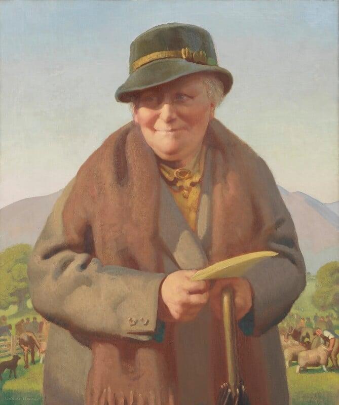 Beatrix Potter, by Delmar Banner, 1938 - NPG 3635 - © National Portrait Gallery, London