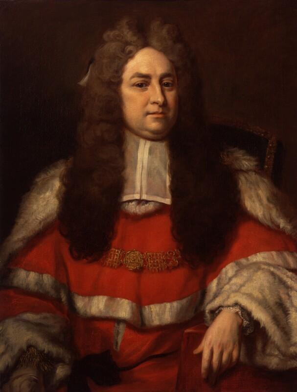 Sir John Pratt, after Michael Dahl, 1842-1847, based on a work of circa 1718 - NPG 480 - © National Portrait Gallery, London