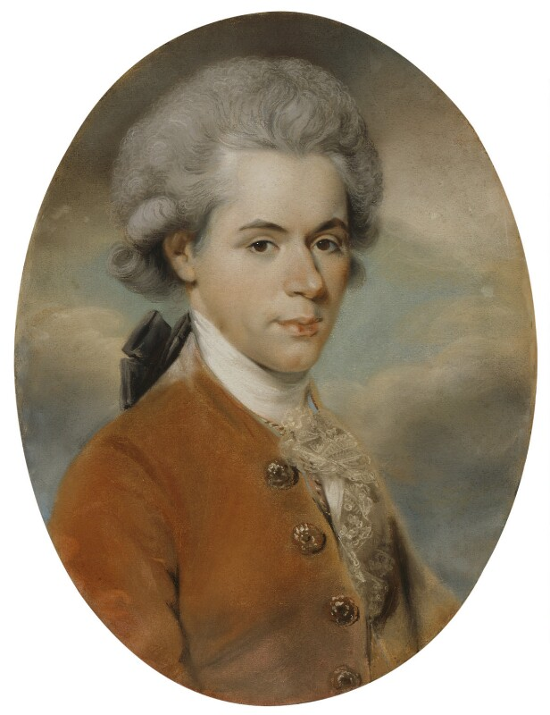 James Price, by John Russell, circa 1782 - NPG 1942 - © National Portrait Gallery, London