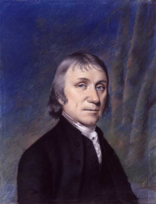 Joseph Priestley, by Ellen Sharples, probably after  James Sharples, circa 1797 - NPG 175 - © National Portrait Gallery, London