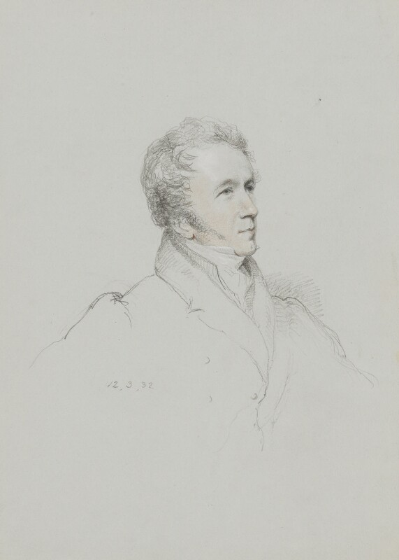 Sir James Prior, by William Brockedon, 1832 -NPG 2515(43) - © National Portrait Gallery, London