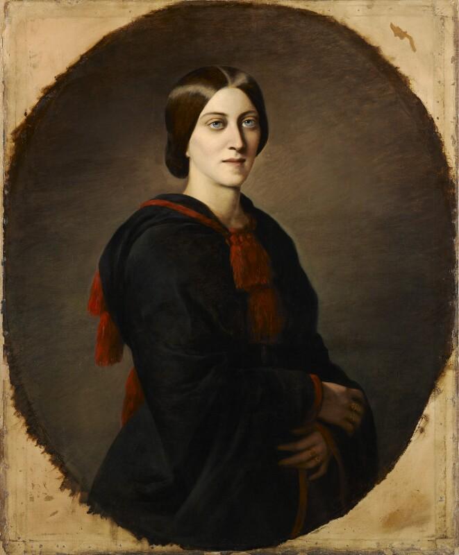 Adelaide Anne ('Mary Berick') Procter, by Emma Gaggiotti Richards,  - NPG 789 - © National Portrait Gallery, London