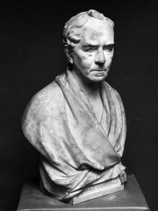 Bryan Waller Procter (Barry Cornwall), by John Henry Foley,  - NPG 788 - © National Portrait Gallery, London