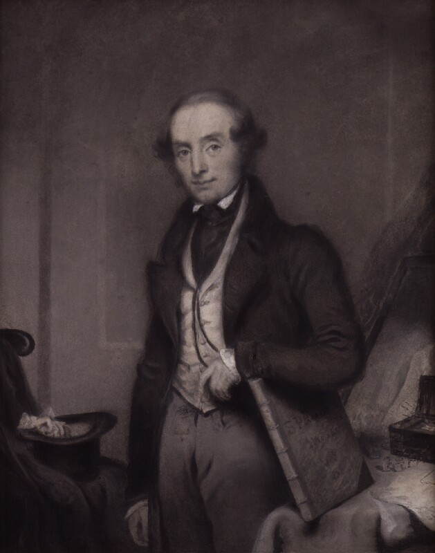 Samuel Prout, by Charles Turner, circa 1836 - NPG 1245 - © National Portrait Gallery, London