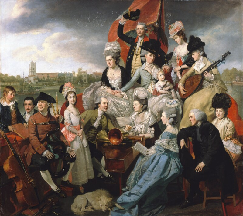 The Sharp Family, by Johan Joseph Zoffany, 1779-1781 - NPG L169 - Private collection; on loan to the National Portrait Gallery, London
