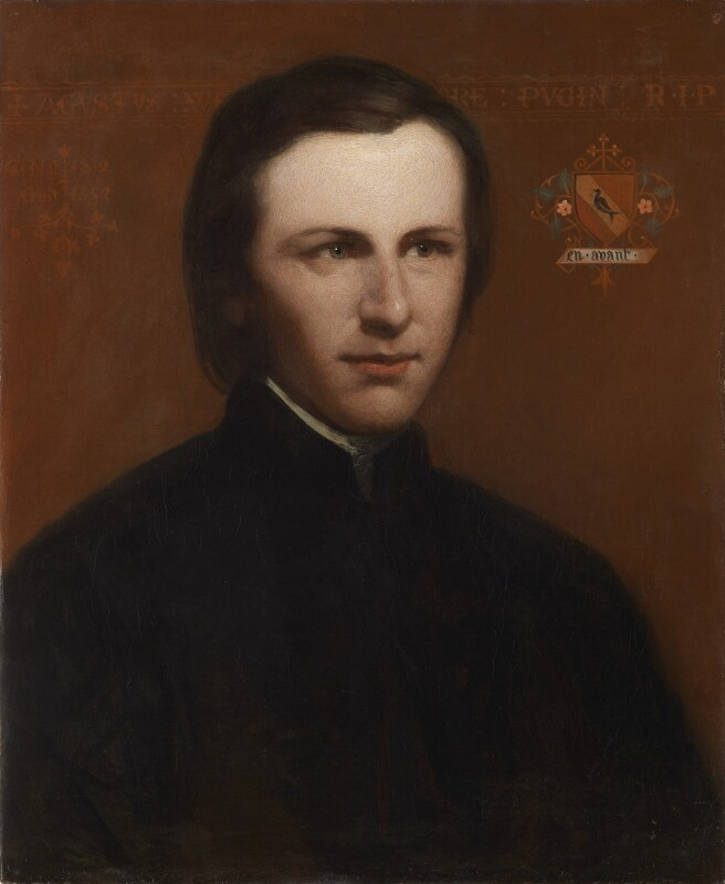 Augustus Pugin, by Unknown artist, circa 1840 - NPG 1404 - © National Portrait Gallery, London