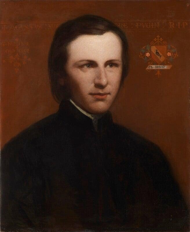Augustus Pugin, by Unknown artist, circa 1840 -NPG 1404 - © National Portrait Gallery, London