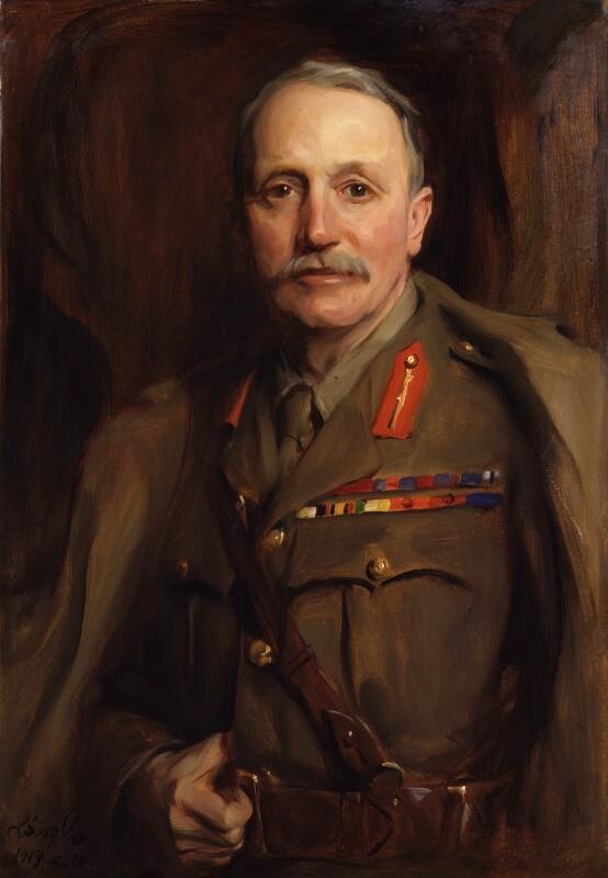 Sir William Pulteney Pulteney, by Philip Alexius de László, 1917 - NPG 4236 - © National Portrait Gallery, London