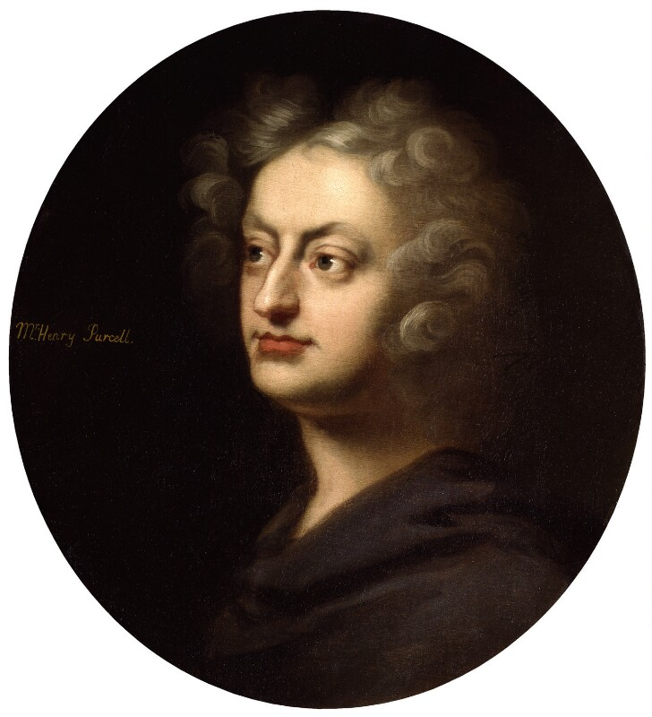 Henry Purcell, by Unknown artist, after 1695 -NPG 2150 - © National Portrait Gallery, London