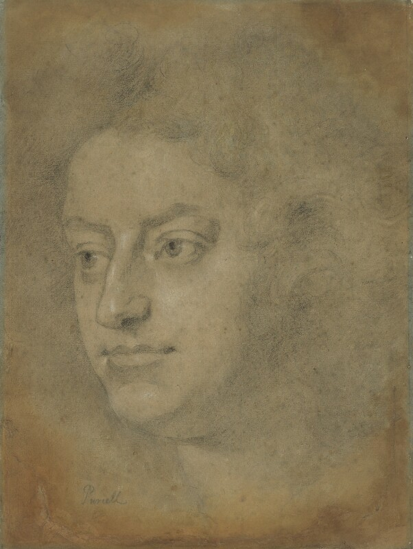 Henry Purcell, by John Closterman, 1695 - NPG 4994 - © National Portrait Gallery, London