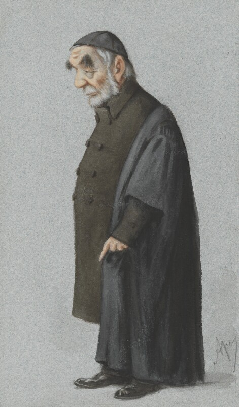 Edward Bouverie Pusey, by Carlo Pellegrini, published in Vanity Fair 2 January 1875 - NPG 2594 - © National Portrait Gallery, London
