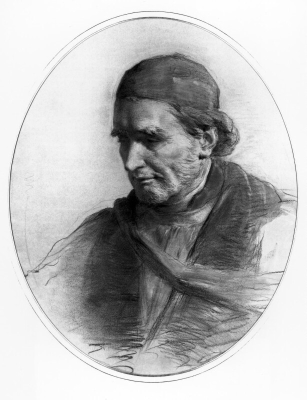 Edward Bouverie Pusey, by George Richmond, circa 1890 - NPG 1059 - © National Portrait Gallery, London