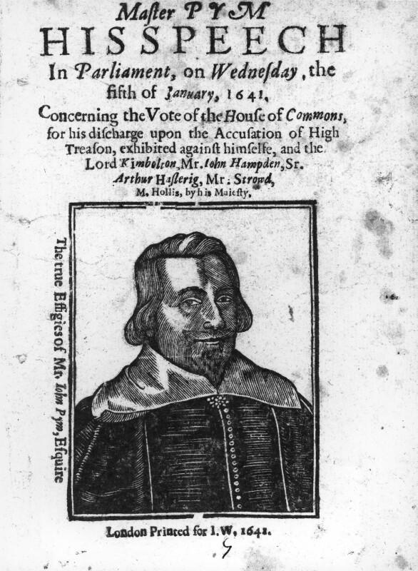 John Pym, after Edward Bower, 1641 - NPG 1425 - © National Portrait Gallery, London