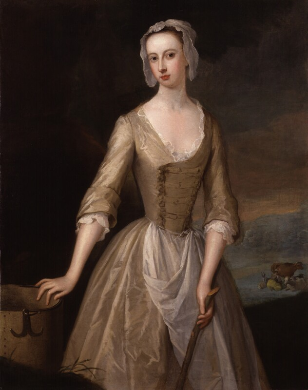 Catherine Douglas (née Hyde), Duchess of Queensberry, attributed to Charles Jervas, circa 1725-1730 - NPG 238 - © National Portrait Gallery, London