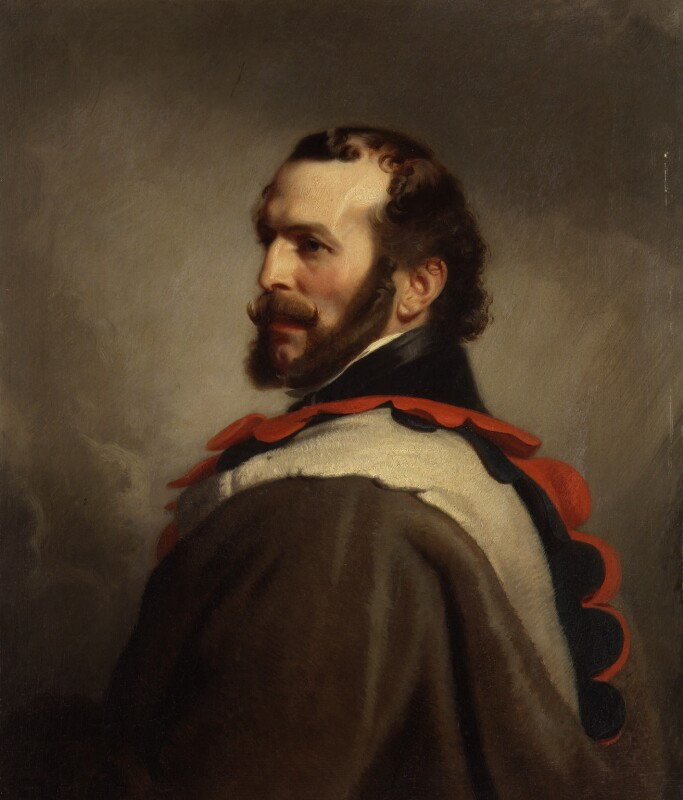 John Rae, by Stephen Pearce, exhibited 1853 - NPG 1213 - © National Portrait Gallery, London