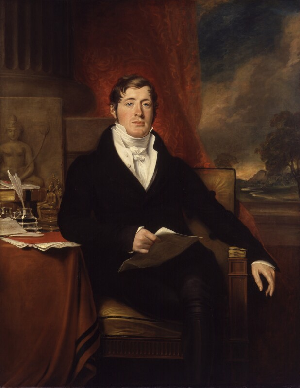 Sir Thomas Stamford Bingley Raffles, by George Francis Joseph, 1817 - NPG 84 - © National Portrait Gallery, London