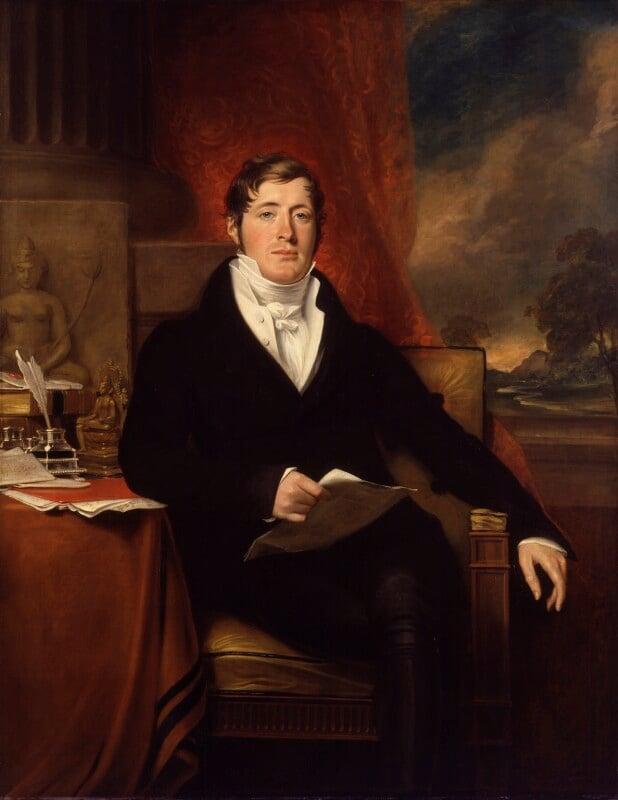 Sir Thomas Stamford Bingley Raffles, by George Francis Joseph, 1817 -NPG 84 - © National Portrait Gallery, London