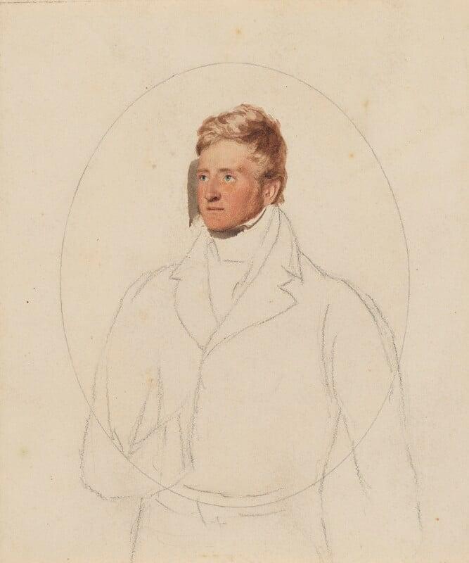 FitzRoy James Henry Somerset, 1st Baron Raglan, by Thomas Heaphy, 1813-1815 -NPG 1914(11) - © National Portrait Gallery, London