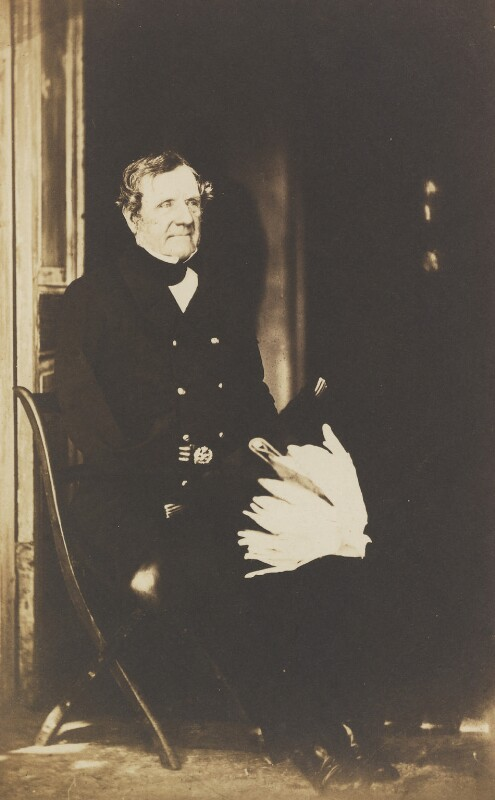 FitzRoy James Henry Somerset, 1st Baron Raglan, by Roger Fenton, 1855 - NPG P19 - © National Portrait Gallery, London