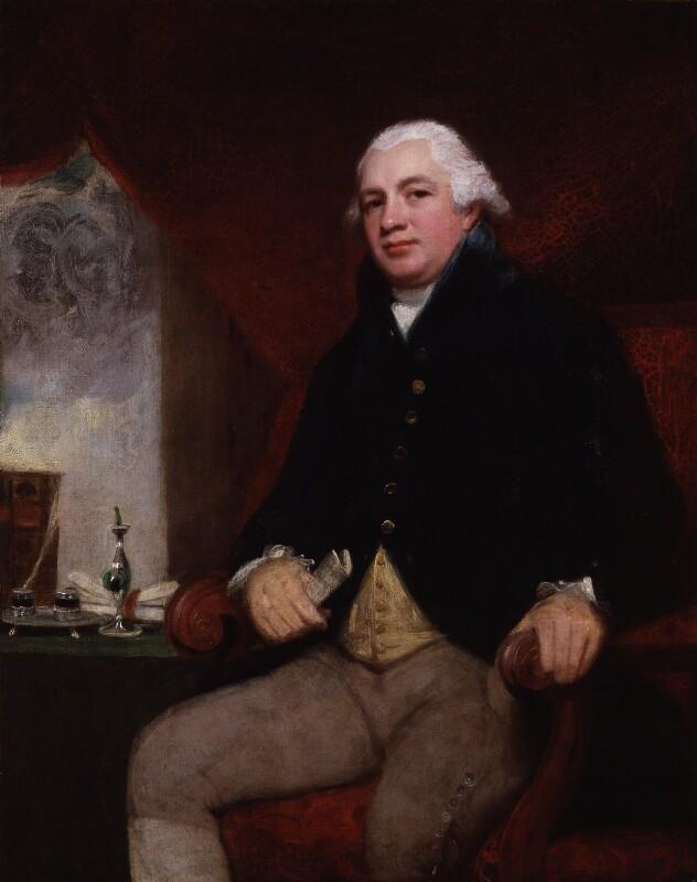 Robert Raikes, by George Romney, 1785-1788 - NPG 1551 - © National Portrait Gallery, London