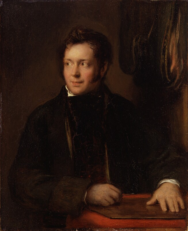 Abraham Raimbach, by Sir David Wilkie, 1818 - NPG 775 - © National Portrait Gallery, London