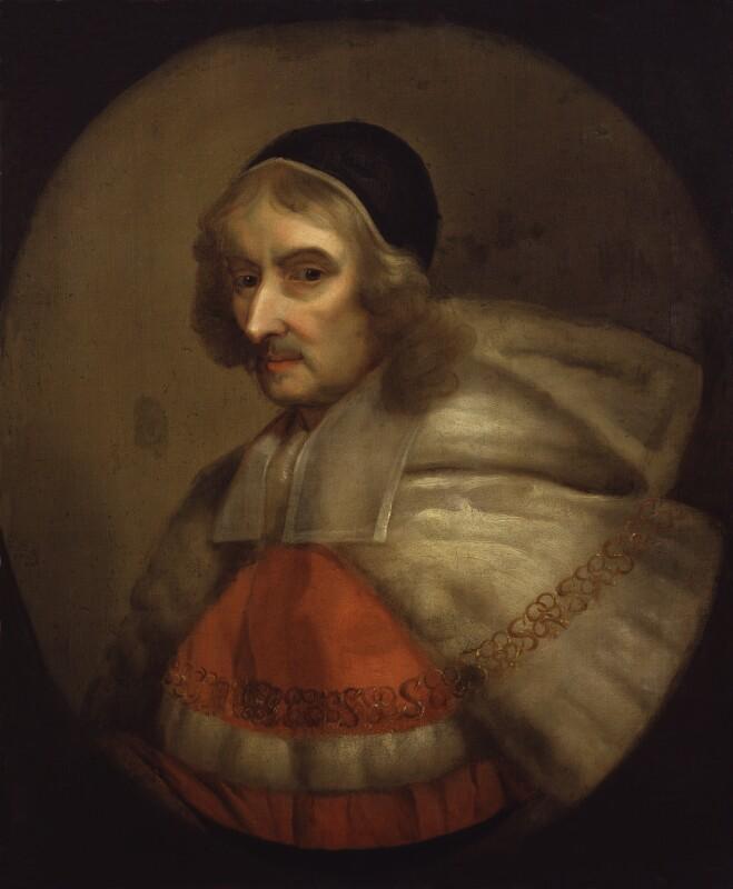 Sir Richard Rainsford, after Gilbert Soest, based on a work of circa 1678 - NPG 643 - © National Portrait Gallery, London
