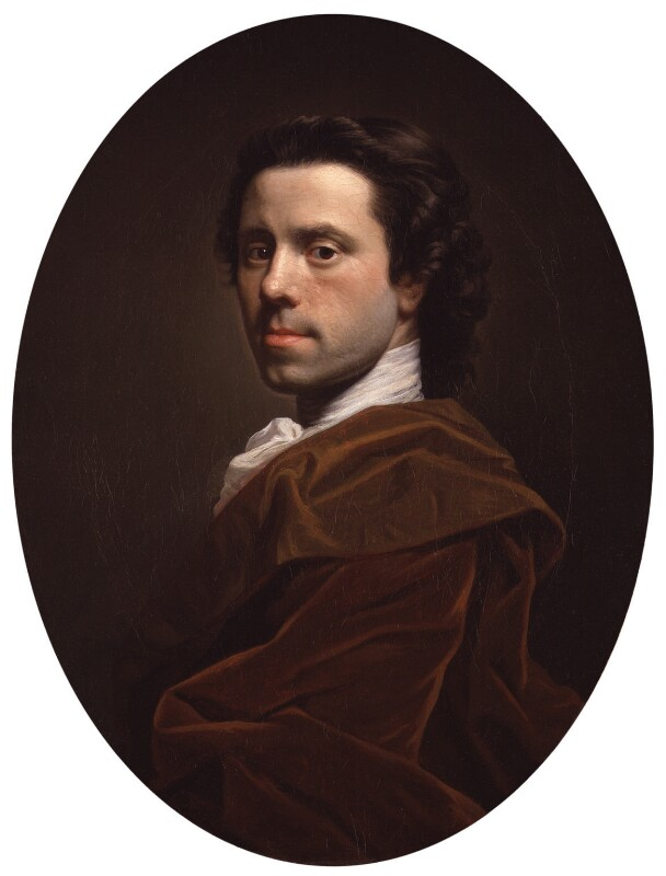 Allan Ramsay, by Allan Ramsay, circa 1737-1739 - NPG 3311 - © National Portrait Gallery, London