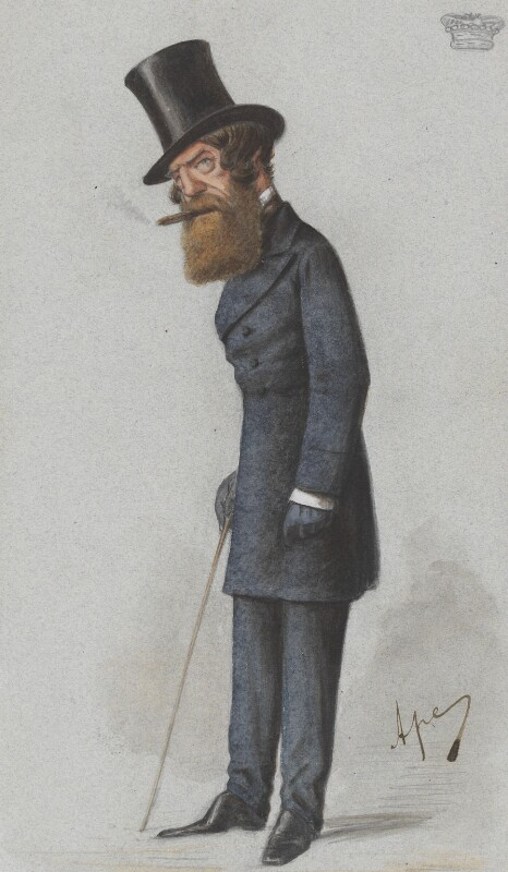 Thomas Heron Jones, 7th Viscount Ranelagh, by Carlo Pellegrini, published in Vanity Fair 25 June 1870 - NPG 4736 - © National Portrait Gallery, London