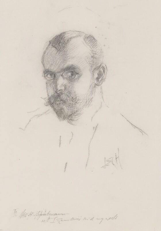 Leonard Raven-Hill, by Leonard Raven-Hill,  - NPG 3046 - © National Portrait Gallery, London