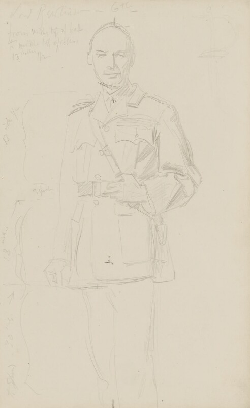 Henry Seymour Rawlinson, 1st Baron Rawlinson of Trent, by John Singer Sargent, circa 1922 - NPG 2908(2) - © National Portrait Gallery, London