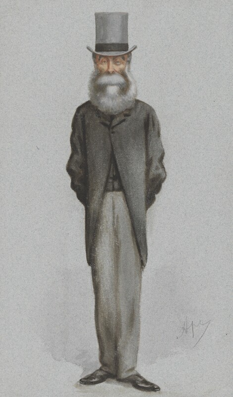 Clare Sewell Read, by Carlo Pellegrini, published in Vanity Fair 5 June 1875 - NPG 2597 - © National Portrait Gallery, London