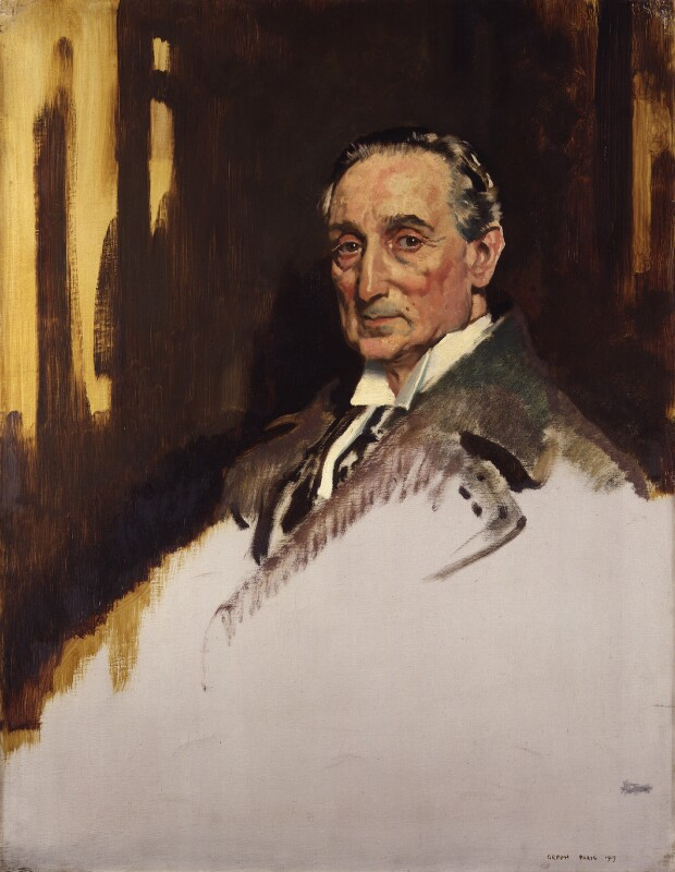 Rufus Isaacs, 1st Marquess of Reading, by Sir William Orpen, 1919 - NPG 4180 - © National Portrait Gallery, London