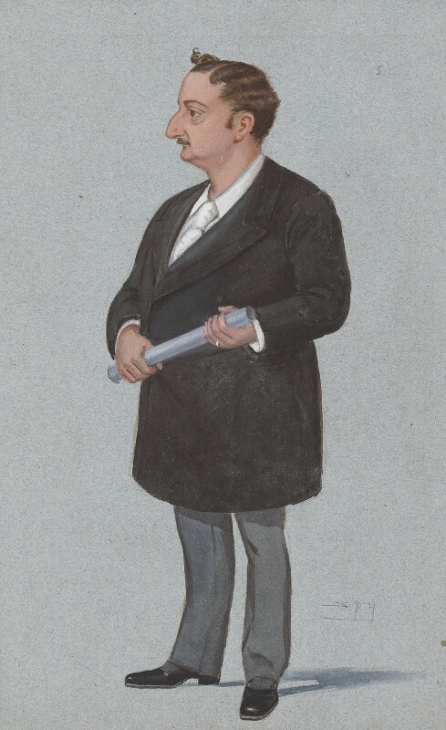 John Edward Redmond, by Sir Leslie Ward, published in Vanity Fair 12 November 1892 - NPG 2982 - © National Portrait Gallery, London