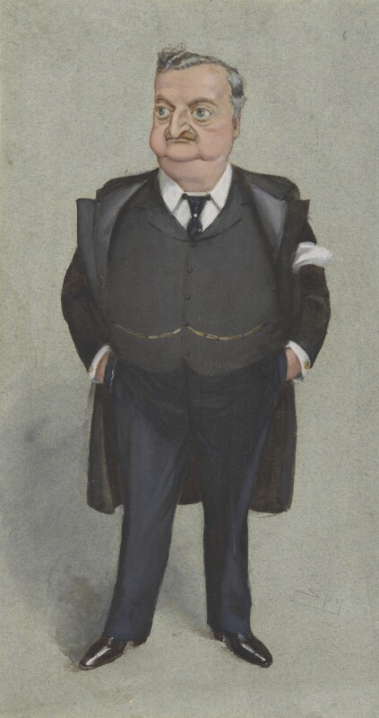 John Edward Redmond, by Sir Leslie Ward, 7 July 1904 - NPG 2983 - © National Portrait Gallery, London