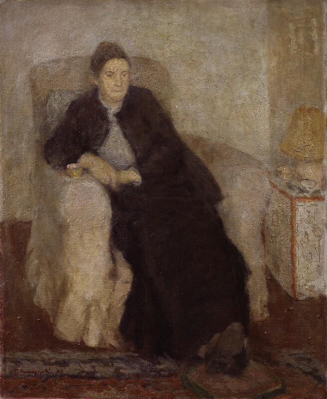 Anne Redpath, by Leszek Muszynski, 1948 - NPG 5171 - © National Portrait Gallery, London