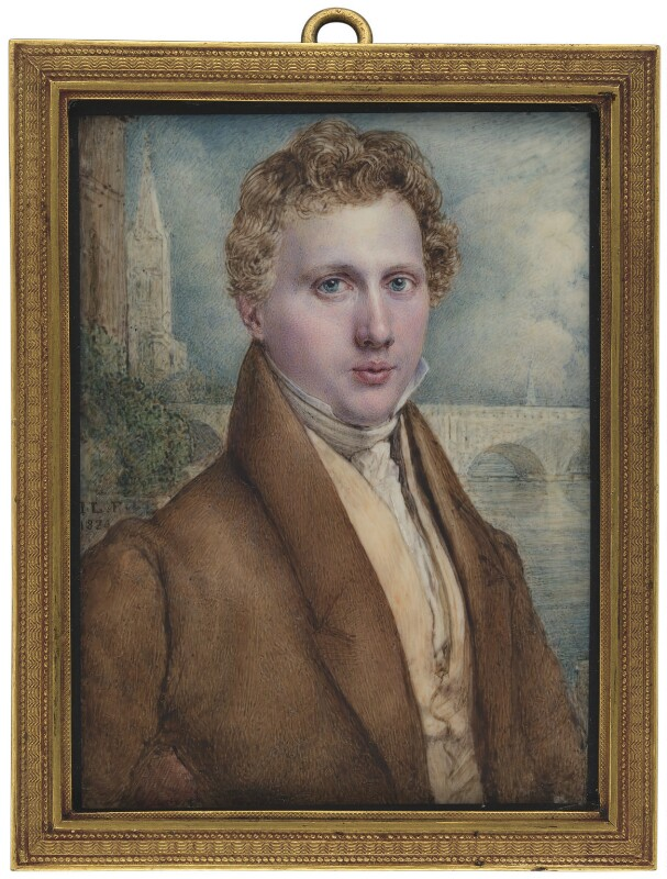 George Rennie, by John Linnell, 1824 - NPG 3683 - © National Portrait Gallery, London