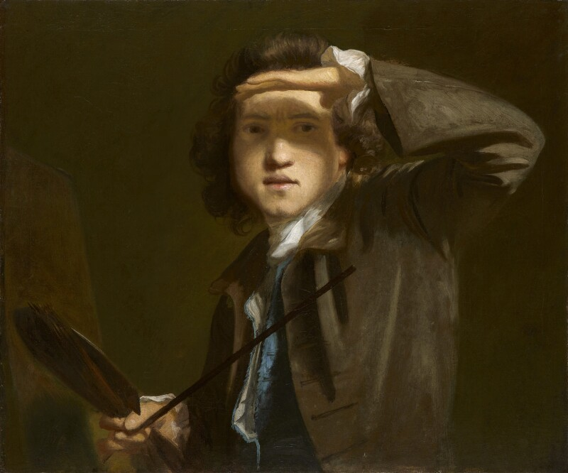 Sir Joshua Reynolds, by Sir Joshua Reynolds, circa 1747-1749 -NPG 41 - © National Portrait Gallery, London