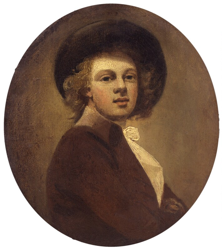 Unknown man, formerly known as Sir Joshua Reynolds, by Unknown artist, circa 1775 - NPG 927 - © National Portrait Gallery, London