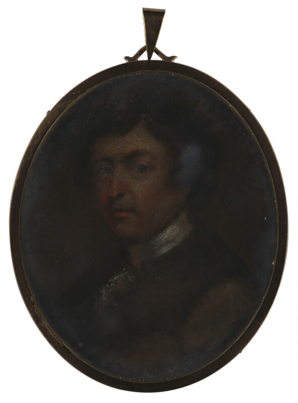 Unknown man, formerly known as Sir Joshua Reynolds, by Unknown artist, circa 1770 -NPG 1761b - © National Portrait Gallery, London