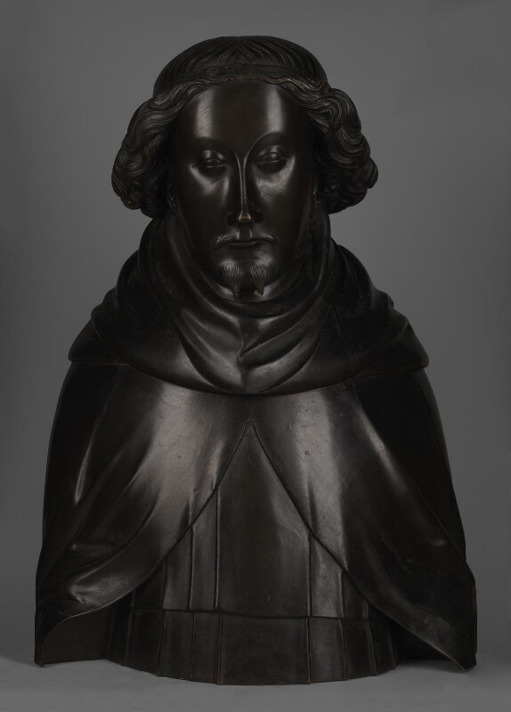 King Richard II, by Elkington & Co, cast by  Domenico Brucciani, after  Nicholas Broker, and  Godfrey Prest, 1873, based on a work of circa 1395-1397 - NPG 330 - © National Portrait Gallery, London