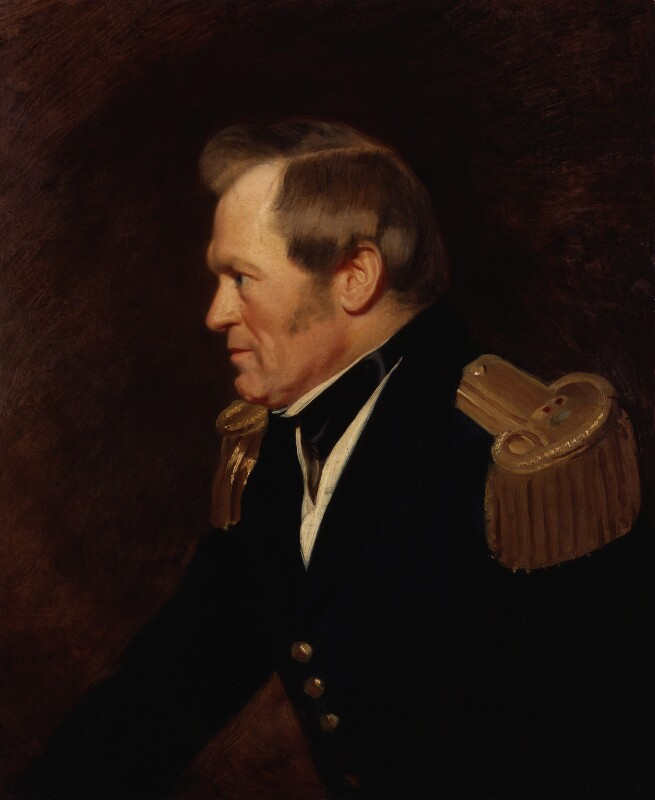 Sir John Richardson, by Stephen Pearce, 1850 -NPG 909 - © National Portrait Gallery, London