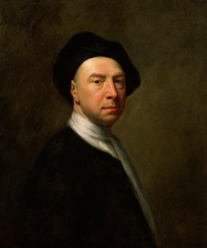 Jonathan Richardson, by Jonathan Richardson, circa 1729 -NPG 706 - © National Portrait Gallery, London