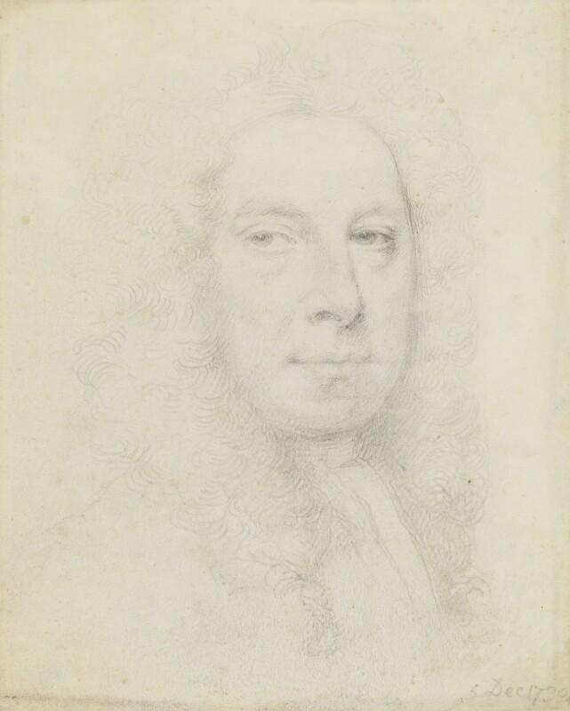 Jonathan Richardson, by Jonathan Richardson, 1730 - NPG 1831 - © National Portrait Gallery, London