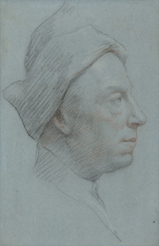 Jonathan Richardson, by Jonathan Richardson, early 1730s - NPG 1693 - © National Portrait Gallery, London