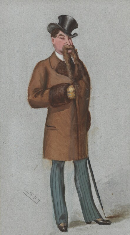 Robert Richardson-Gardner, by Sir Leslie Ward, published in Vanity Fair 17 February 1877 - NPG 3294 - © National Portrait Gallery, London
